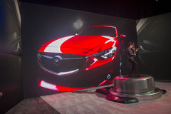 CES 2014 mazda Royalty Free Stock Images