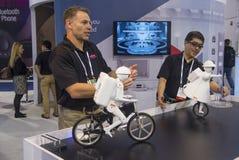 CES 2014 robots Stock Images