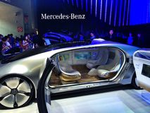 CES Asia 2015 Mercedes-Benz Royalty Free Stock Image