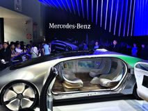 CES Asia 2015 Mercedes-Benz Royalty Free Stock Photography