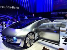 CES Asia 2015 Mercedes-Benz Royalty Free Stock Images
