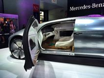 CES Asia 2015 Mercedes-Benz Stock Images