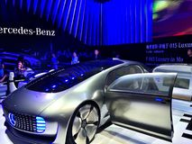 CES Asia 2015 Mercedes-Benz Stock Photo