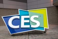 CES - Consumer Electronics Show 2017 Foto de archivo