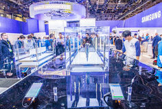 CES 2015 Royalty Free Stock Photography