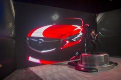 CES 2014 Mazda Royalty-vrije Stock Afbeeldingen
