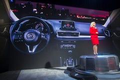 CES 2014 Mazda Royalty-vrije Stock Fotografie