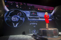 CES 2014 Mazda Royalty-vrije Stock Afbeelding