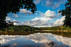 Cesamarpark in Palmas, Staat van Tocantins, Brazilië royalty-vrije stock foto's