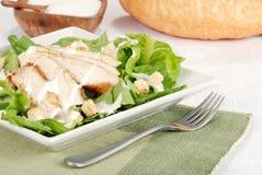 cesar σαλάτα κοτόπουλου στοκ φωτογραφία