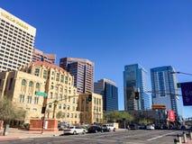 Cesar Chavez Memorial Plaza, Phoenix, AZ royalty-vrije stock afbeeldingen