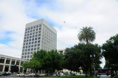 Cesar Chavez Park San Jose royaltyfria foton