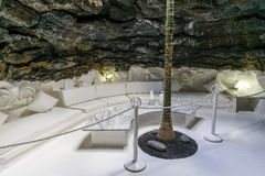 Cesar Marique Foundation, Lanzarote. Inside the underground Cesar Marique Foundation in Tahiche, Lanzarote, Canary Islands. Spain Stock Photo