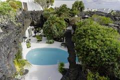 Cesar Marique Foundation, Lanzarote Royalty Free Stock Photo