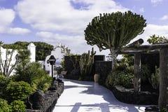 Cesar Marique Foundation, Lanzarote. Cesar Marique Foundation in Tahiche, Lanzarote, Canary Islands. Spain Stock Photo