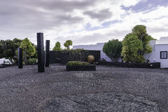Cesar Marique Foundation, Lanzarote Royalty Free Stock Photos