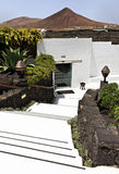 Cesar Marique Foundation, Tahiche, Lanzarote Stock Photo