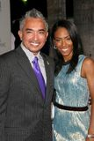Cesar Millan,Jada Pinkett Smith Stock Images