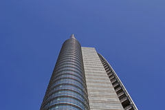 Cesar Pelli tower in Milan Royalty Free Stock Photo