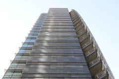 Cesar Pelli tower in Milan Royalty Free Stock Photos