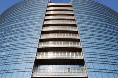Cesar Pelli tower in Milan Stock Images