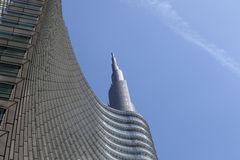 Cesar Pelli tower in Milan Stock Photography