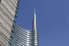 Cesar pelli tower in Milan Stock Image