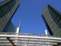Cesar-pelli Turmabschluß oben Stockfoto