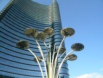 Cesar-pelli Turmabschluß oben Lizenzfreies Stockfoto