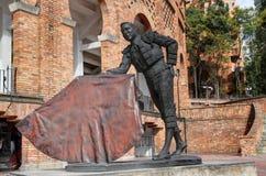 Cesar Rincon staty Arkivbild