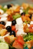 Cesar Salad. Prepared and very tasty Stock Photography