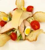 Cesar salad. Cesar chicken sald Stock Images