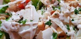 Cesar Salad - Detail lizenzfreies stockfoto
