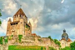 Cesar Tower dans Provins, France photographie stock libre de droits