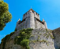 Cesar Tower in Provins, Francia immagine stock