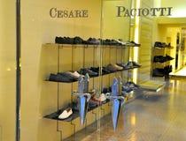 Cesare Paciotti shoes shop Stock Photos