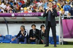 cesare trenera głowy Italy krajowa prandelli drużyna Zdjęcia Royalty Free