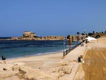 Cesarea - Israel Stockbilder