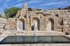 Cesarea, Israele Fotografia Stock Libera da Diritti