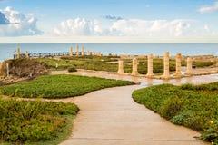 Cesarea, Izrael Zdjęcie Royalty Free