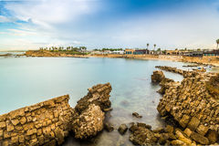 Cesarea National Park, Israël Royalty-vrije Stock Afbeelding