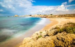 Cesarea National Park Israel Royaltyfri Fotografi