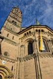 Cesarska katedra w Bamberg, Niemcy (Kaiserdom) obrazy royalty free