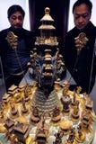 Cesarska pałac dziedzictwa wystawa obrazy stock