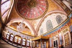 Cesarski Hall Topkapi pałac Obraz Stock