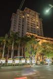 Cesarski hotel w odcieniu zdjęcie royalty free