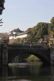 cesarski japoński pałac Obraz Royalty Free