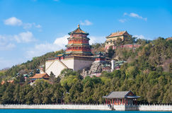 Cesarski lato pałac w Pekin, ChinaImperial lata pałac w Pekin Fotografia Stock