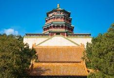Cesarski lato pałac w Pekin Obrazy Stock