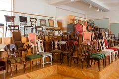 Cesarski Meblarski Inkasowy muzeum, Wiedeń, Austria Zdjęcie Stock